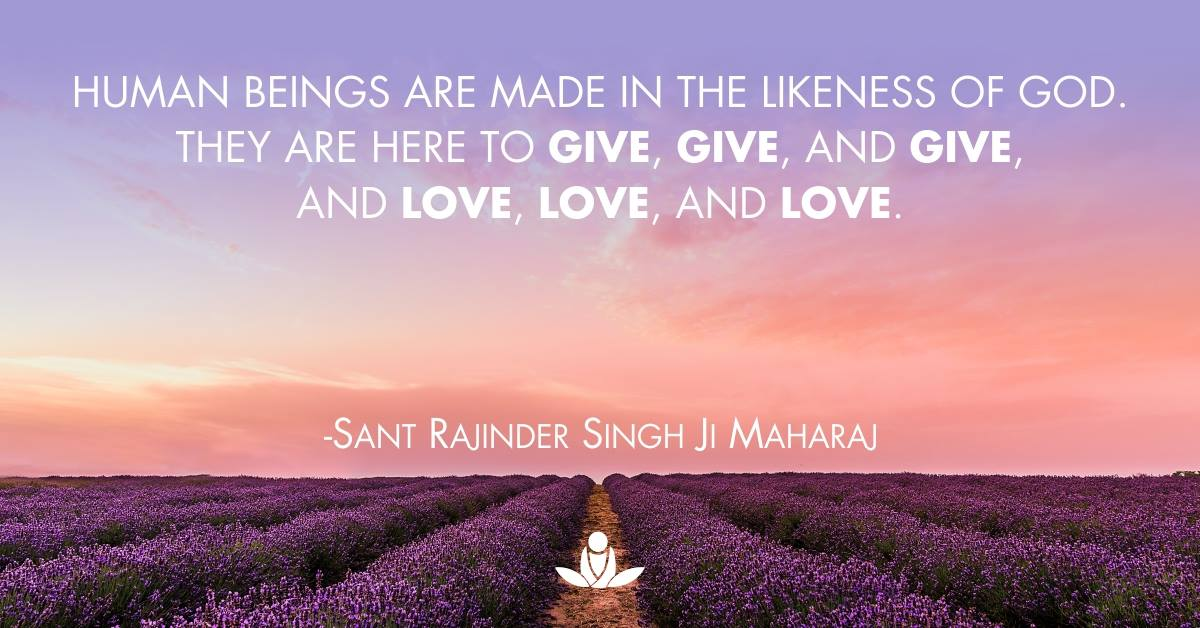 Unconditional Love Sant Rajinder Singh